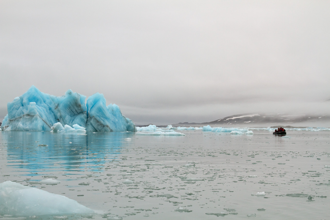 mesmerizing icebergs